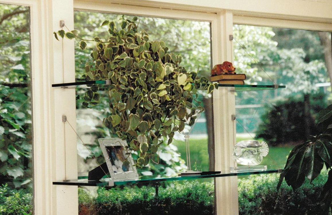 10 x 36 cable shelf kit for Garden window